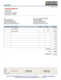 tour travel bill sample format 10 free freelance invoice templates word excel
