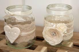 decorative glass jars elegant decorative glass jar for
