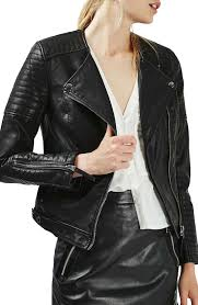 classic leather motorcycle jackets topshop nelly faux leather biker jacket nordstrom