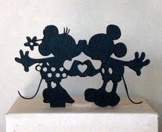 personalized wedding cake topper mickey and minnie wedding