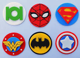 superman cake toppers 36 edible cupcake toppers edible cupcake toppers cake