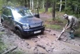 land rover lr4 off road land rover discovery 4 off road extreme stuck in mud bog youtube