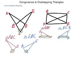 geometry 4 7 congruence in overlapping triangles youtube