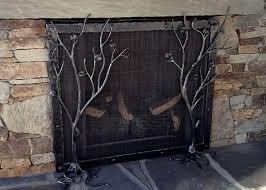 fireplace screen handmade fireplace tools forged design