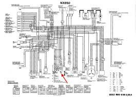honda nx 650 wiring diagram honda wiring diagrams collection