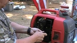 repairing honda generator eu2000i youtube
