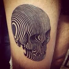 amazing 3d optical skull best design ideas