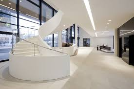 Beautiful Stairs by Modern Icade Office Staircase Design Zeospot Zeospot Light