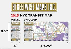 Nyc Subway Map Poster by Streetwise Transitwise New York City Subway Map Manhattan Subway