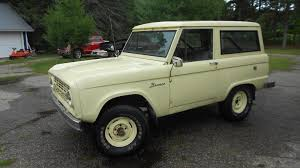 bronco car first year rig 1966 ford bronco