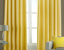 Yellow Curtains For Bedroom Curtains Trendy Plain Yellow Lined Curtains Graceful Plain