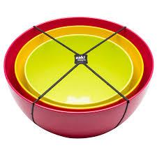 zak design colorful nested serving bowl set for sale assorted fresh zak