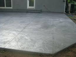 Backyard Cement Ideas Backyard Cement Design Mobiledave Me