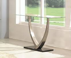 Console Table Used As Dining Table Image Result For Unique Cement Foyer Table Entrances Foyer