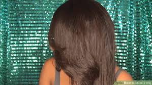 full sew in weave with no hair out how to make a wig with pictures wikihow
