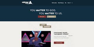 website homepage design best christian church websites ministry designs