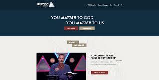 website homepage design best christian church websites ministry designs