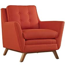 Orange Armchair Accent Chairs At Contemporary Furniture Warehouse Accent Chairs