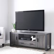 black friday 60 inch tv 60 inch charcoal grey tv stand free shipping today overstock