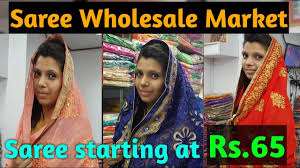 Home Decor Wholesale Market Saree Wholesale Market Saree At 65 Surat Textile Market Youtube