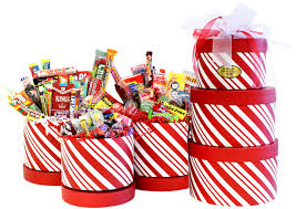 christmas candy gifts reindeer tower of candies christmas gift