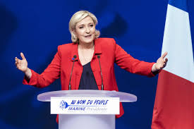 Marine Le Pen Marine Le Pen Upstages Macron With French Factory Visit The New
