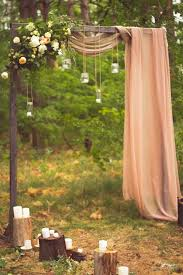 wedding arches outdoor 31 wedding ceremony space lighting ideas for outdoors weddingomania