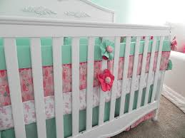 Coral Nursery Bedding Sets by Mint Green Nursery Bedding Home Design Styles