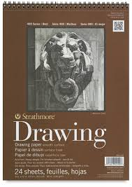 strathmore 400 series smooth surface drawing pads blick art
