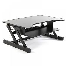 ergoneer upgrade version adjustable sit to stand up desk with easy