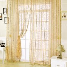 Panel Curtain Room Divider European Jacquard Design Sheer Window Panel Curtains Room Divider