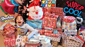 christmas special morning 2016 tiana u0026 family opening presents