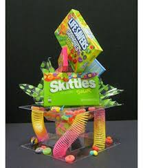 Candy Party Table Decorations Candy Craze Centerpiece Kit Makes A Cute Candy Theme Party Table