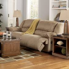 triple reclining sofa drop down table with cupholders printed