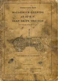 old farm tractor catalogs international harvestor ihc huber