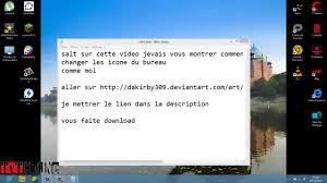 changer icone bureau comment changer d icone sur windows 8