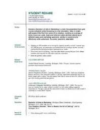 Sample Resume College Student No Experience by College Student Resume Template Best Business Templates Students