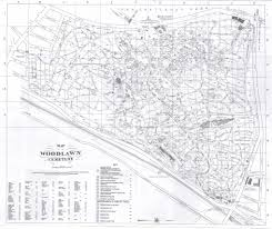 Bronx Map Woodlawn Cemetery Layout