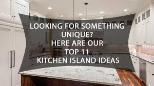 how to build a small kitchen island with cabinets beyond the rectangle 11 cool kitchen island ideas