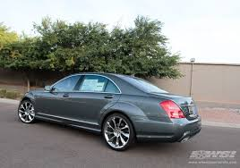 mercedes s class wheels 2011 mercedes s class with 21 lorinser rs8 in silver wheels