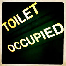 Bathroom Occupied Indicator Airplane Toilet Occupied Sign Airline Decor Aviation Decor