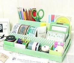 Desk Organizer Box Cardboard Desk Organizer Glassnyc Co