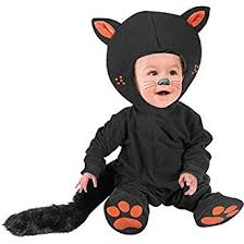 Halloween Costume Baby Boy Amazon Kid U0027s Infant Baby Black Cat Costume Size 12m Clothing