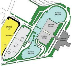 Phoenix International Airport Map by Airport Parking Maps For Palm Beach Palm Springs Pensacola
