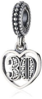 pandora 791287cz 30 years of charm jewelry