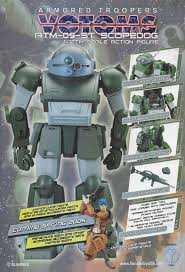 armored trooper votoms armored trooper votoms 1 12 scale action figure