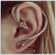 cuff earrings snake ear wrap cuff earring silver on storenvy