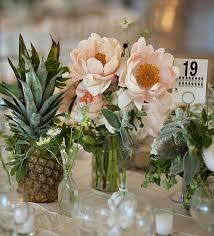 centerpiece for wedding pineapple centerpiece to accent wedding weddceremony