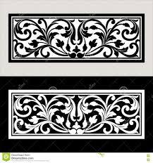 vector vintage border frame logo engraving with retro ornament