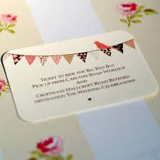 bunting and cupcake wedding invitations by beautiful day